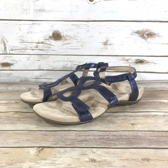 Vionic Jodie Ankle Strap Open Size 8